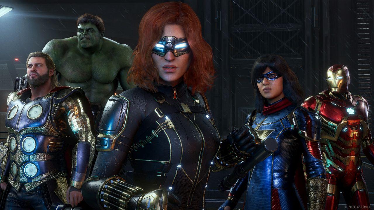 Novidades para Marvel's Avengers