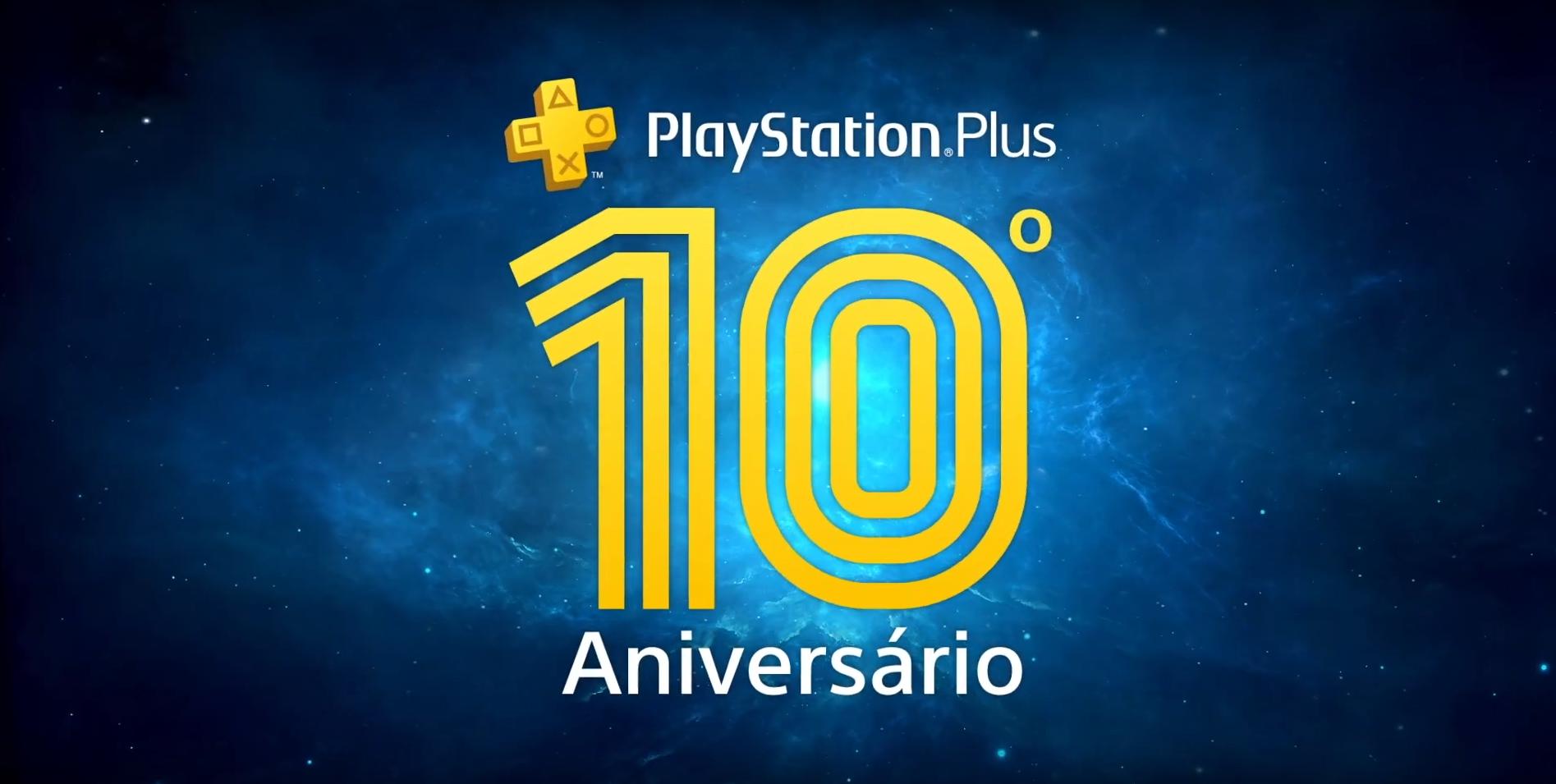 PS Plus celebra 10 anos e oferece três jogos
