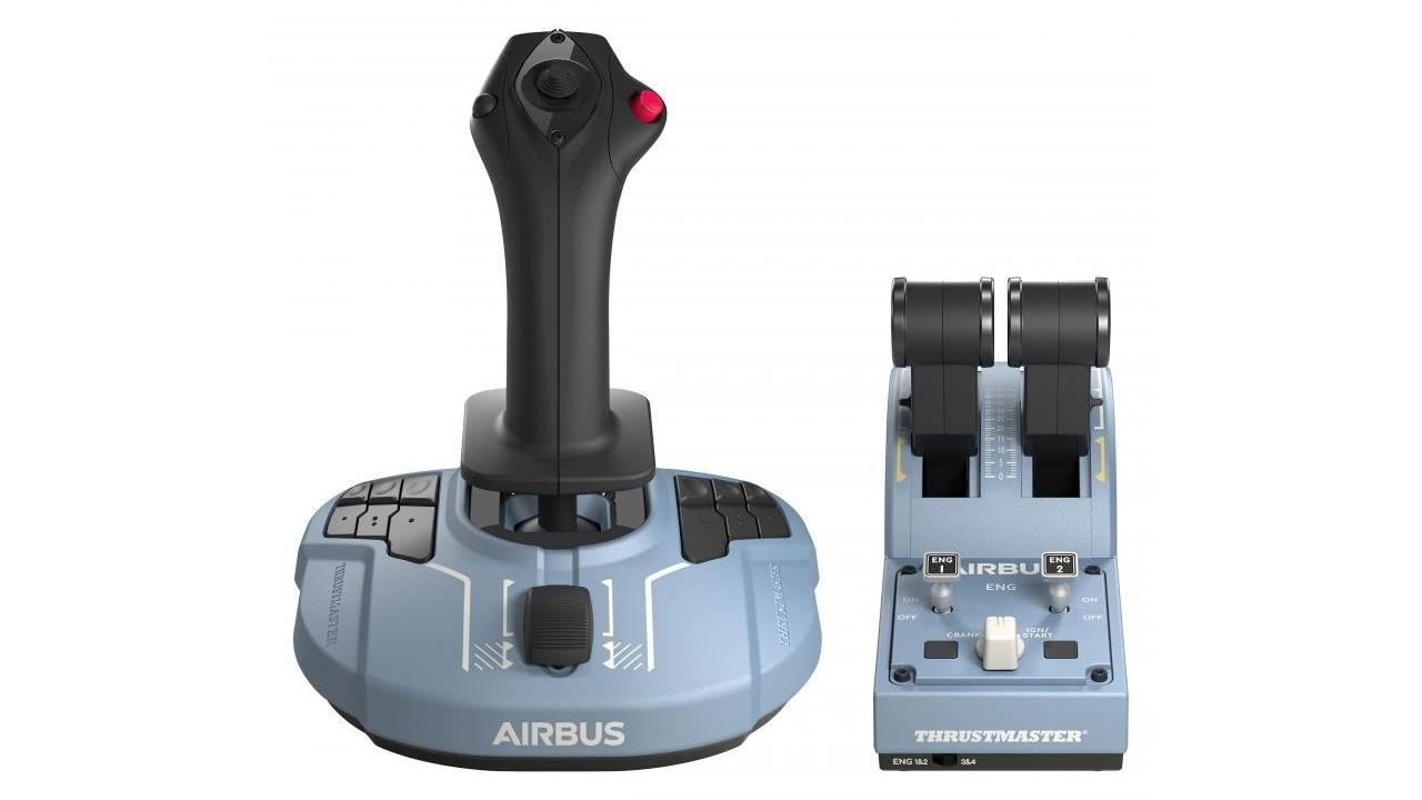 Thrustmaster apresenta linha TCA licenciada pela Airbus