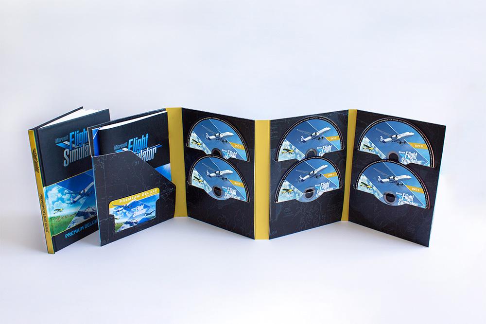 Microsoft Flight Simulator terá edição física com 10 discos