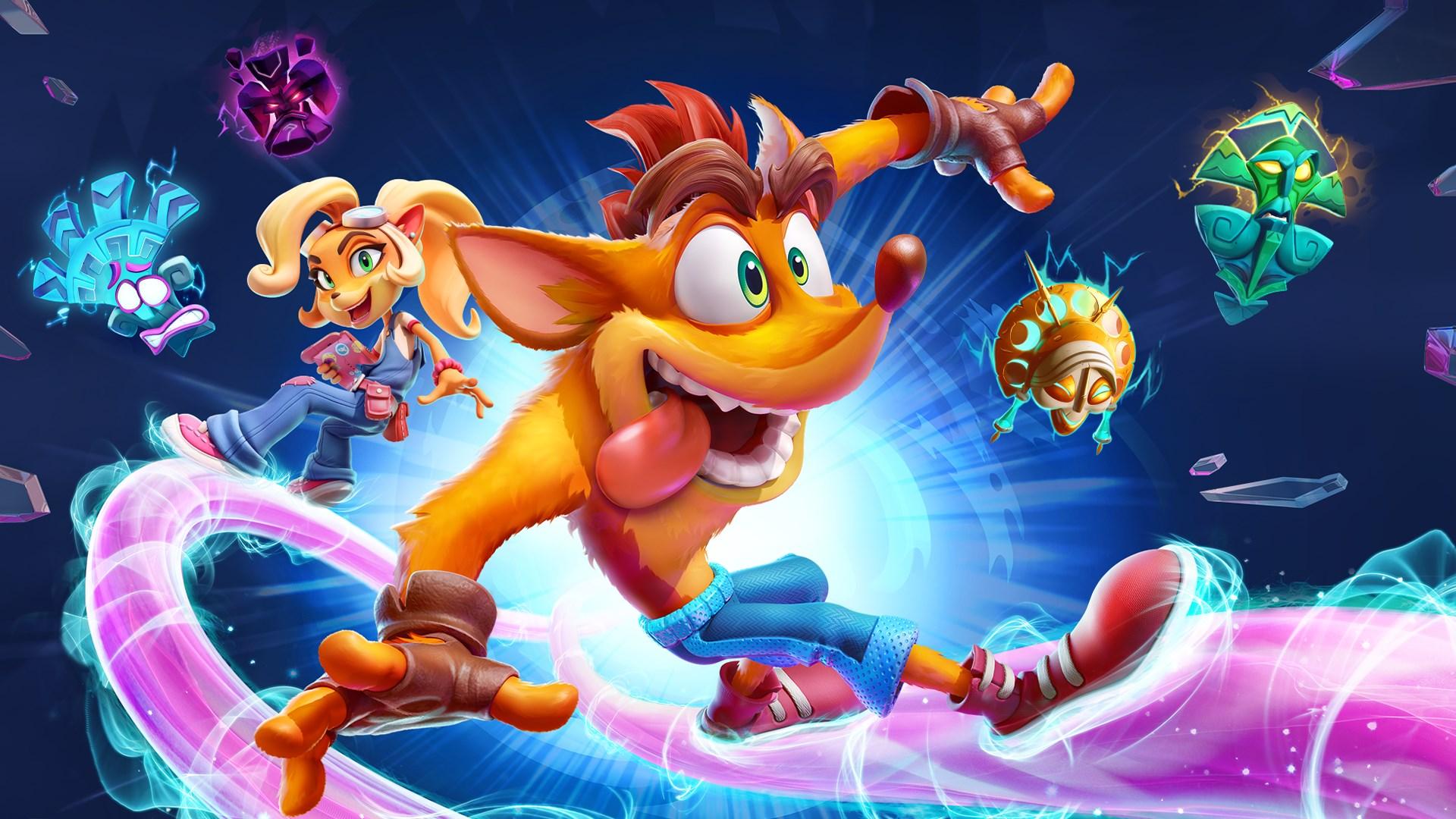 Crash Bandicoot 4 expande as plataformas de jogo