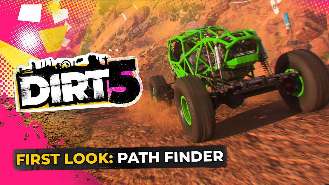 Novo vídeo de DiRT 5 mostra eventos Path Finder
