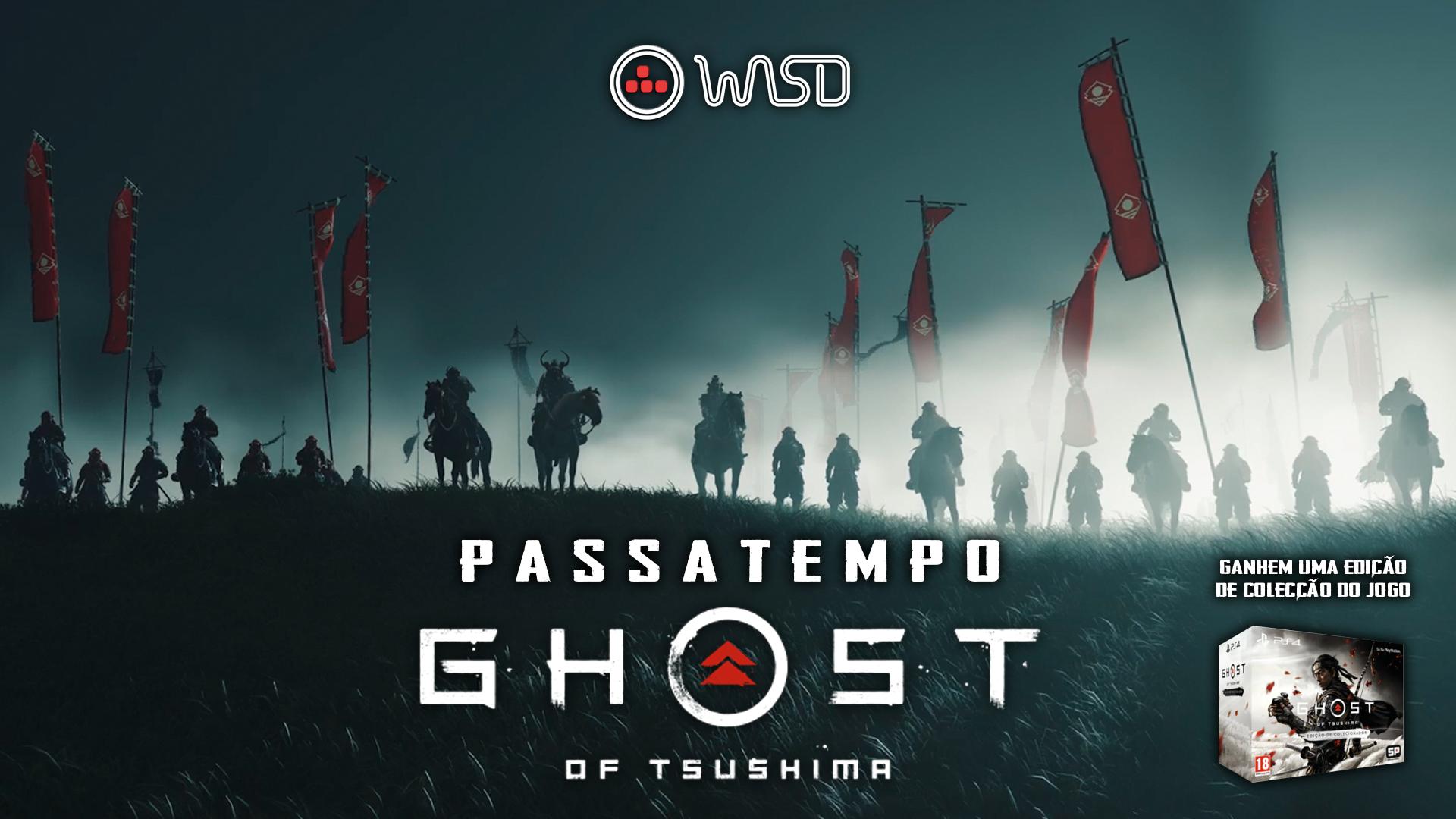 [Encerrado] Passatempo – Estandarte Ghost of Tsushima