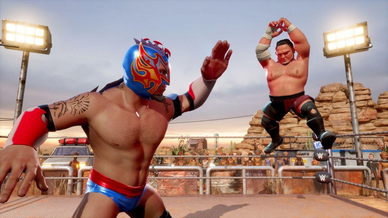 Já há data para WWE 2K: Battlegrounds