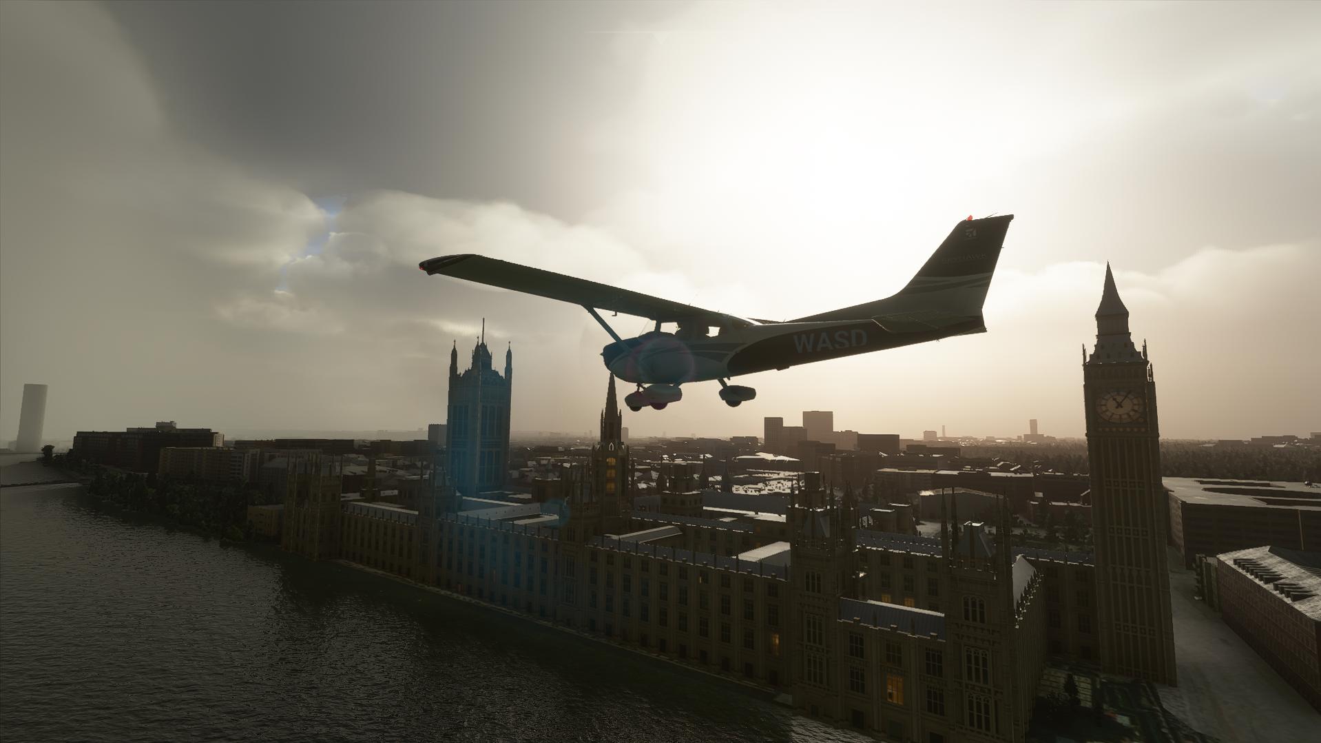 Microsoft Flight Simulator melhora o Reino Unido neste mês