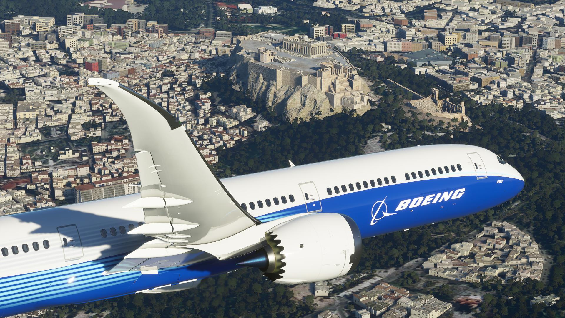 Os recordes de Microsoft Flight Simulator
