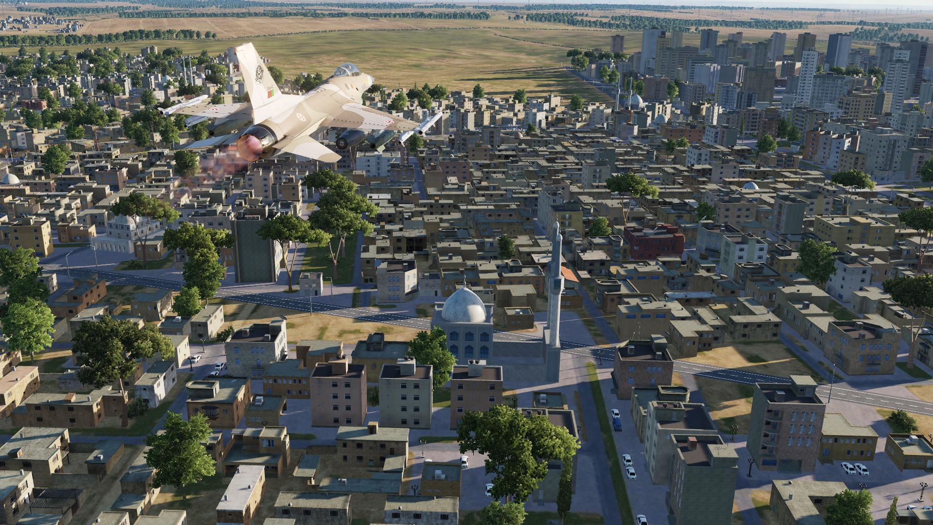Simuladores – DCS: Syria Map