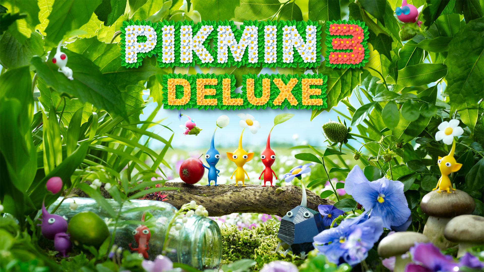 Pikmin 3 Deluxe a caminho da Nintendo Switch