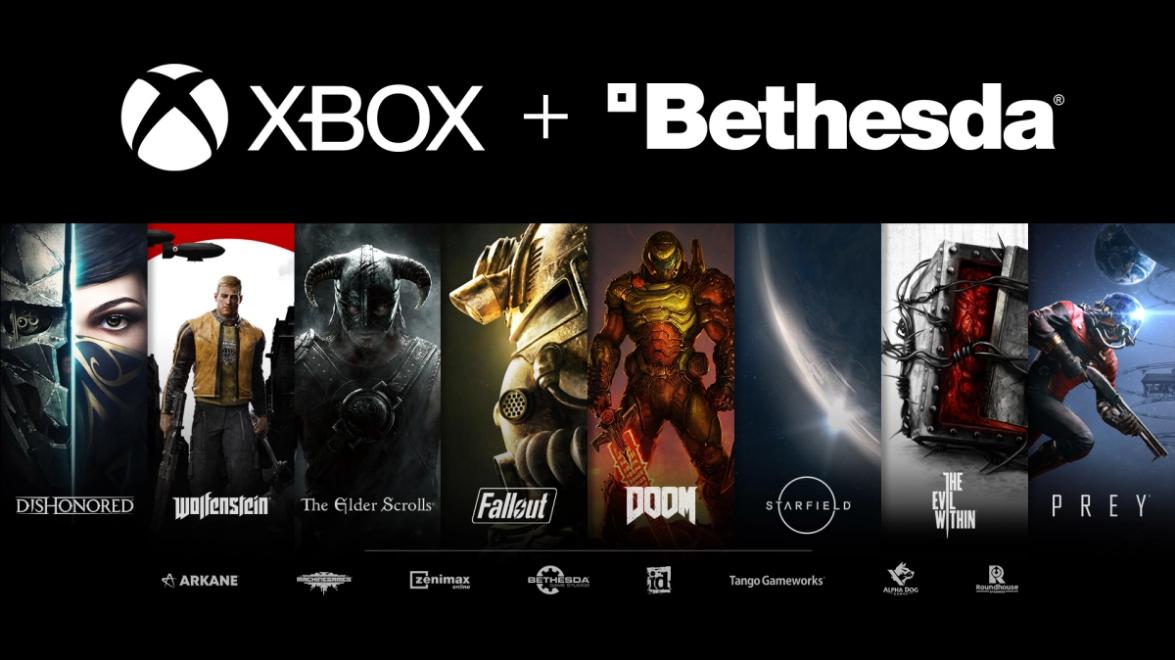 Microsoft Xbox adquire a empresa-mãe da Bethesda