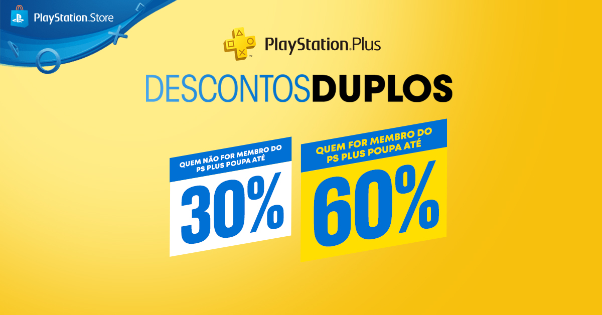 """Descontos Duplos"" no PlayStation Plus a partir de hoje"