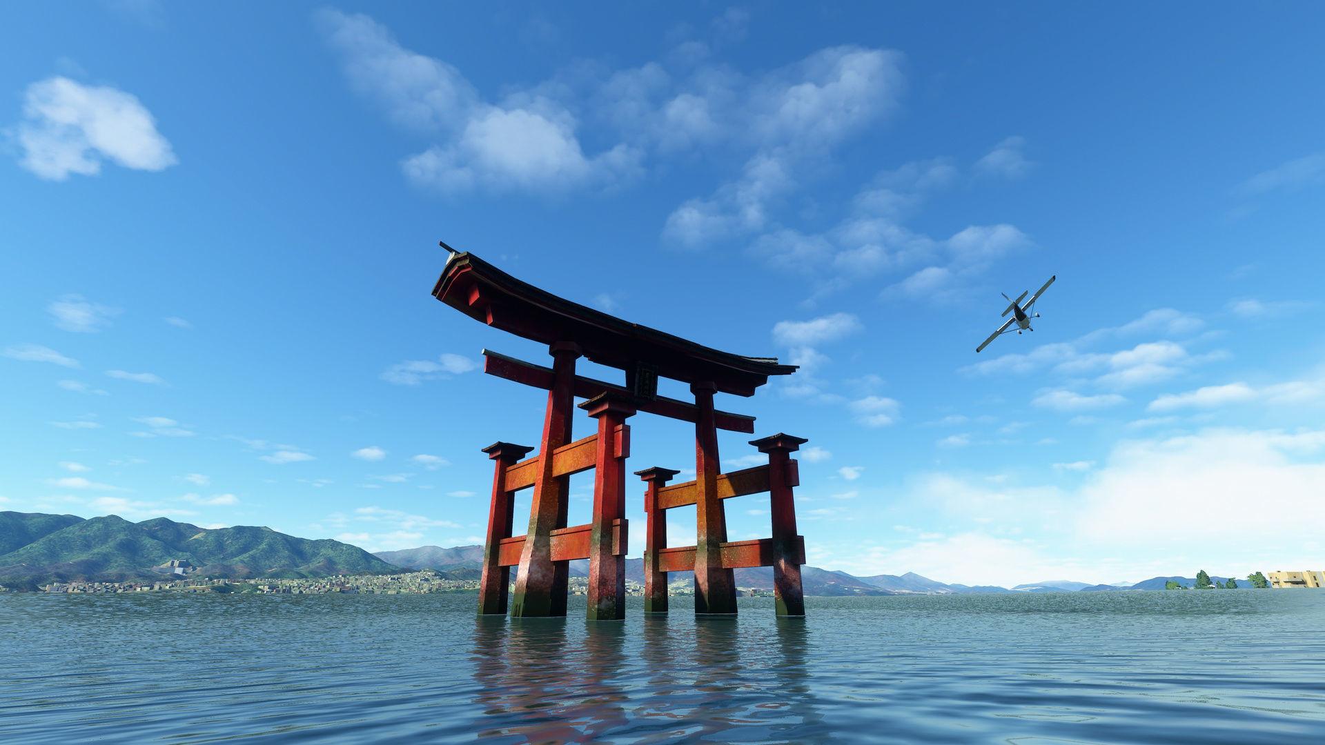 Actualização do Japão já disponível no Microsoft Flight Simulator