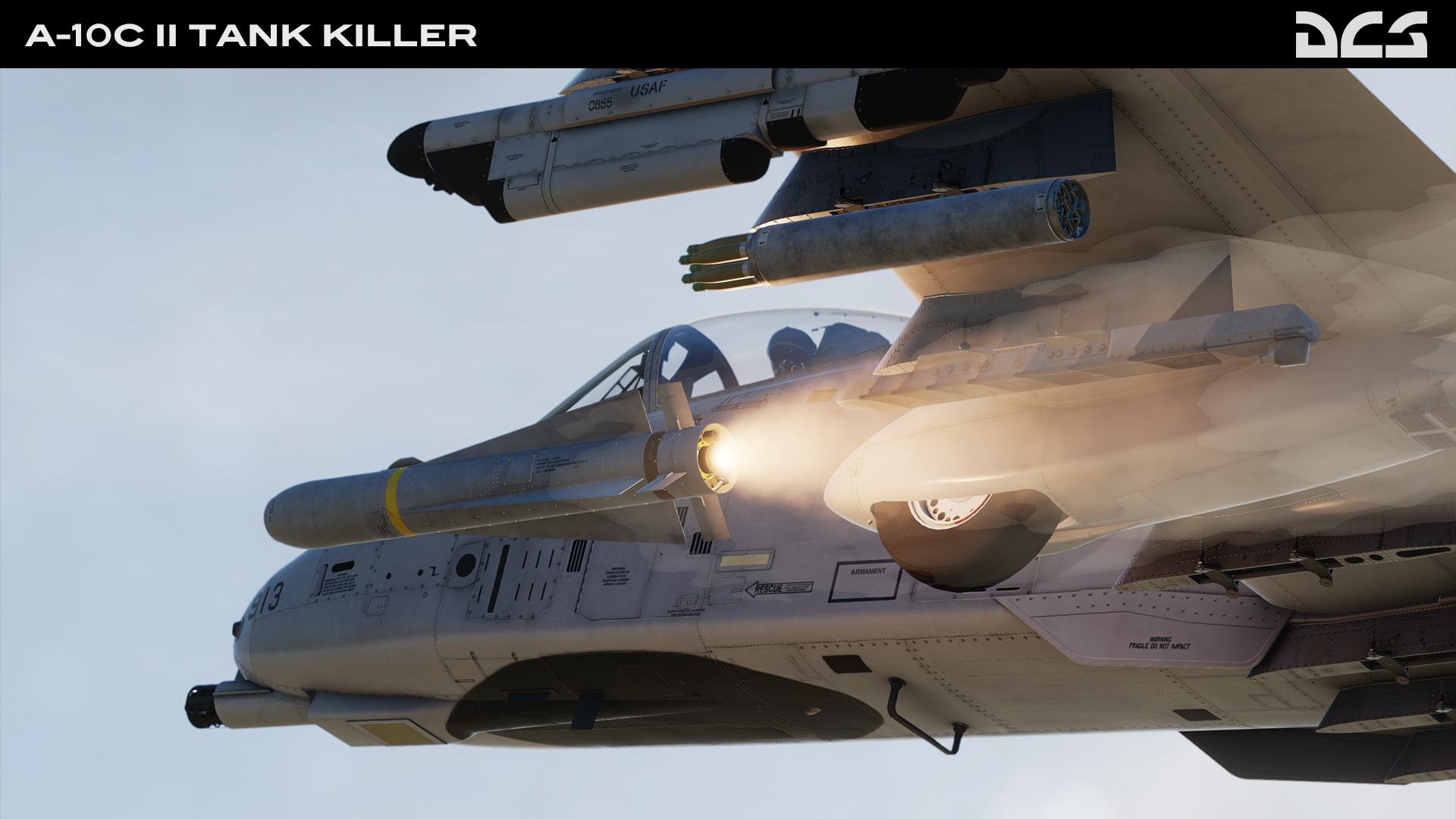 """Eagle Dynamics lança DCS: A-10C II """"Tank Killer"""""""