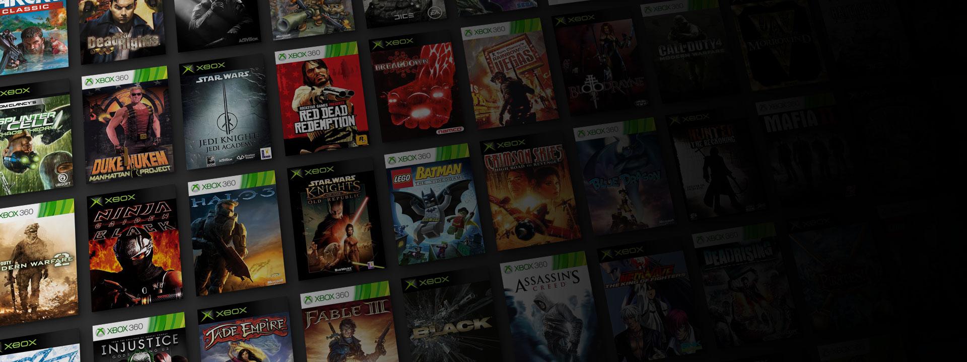 Jogos clássicos Xbox serão melhorados na Xbox Series X|S