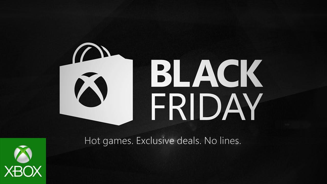 Óptimas promoções na Black Friday da Xbox
