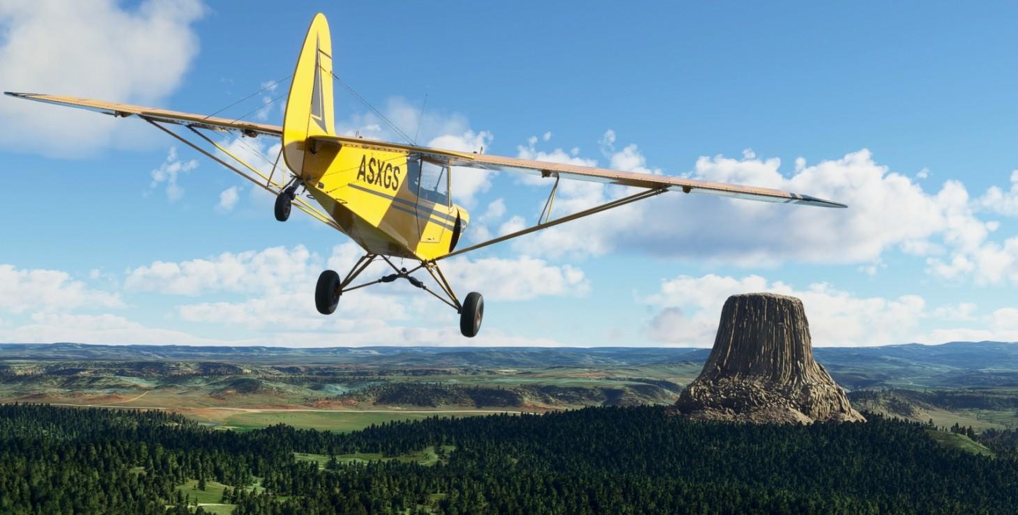 Microsoft Flight Simulator adiciona melhorias nos Estados Unidos