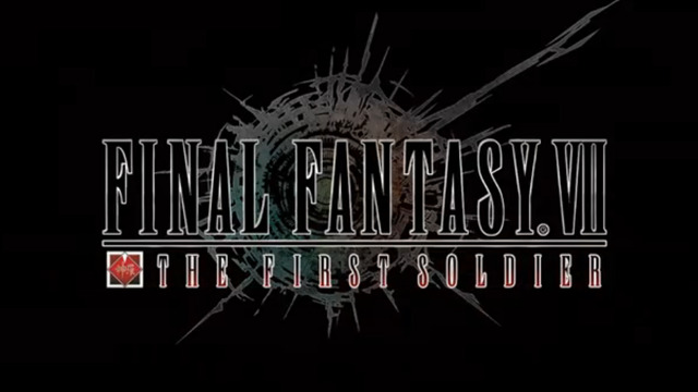 Square Enix anuncia Final Fantasy VII: The First Soldier