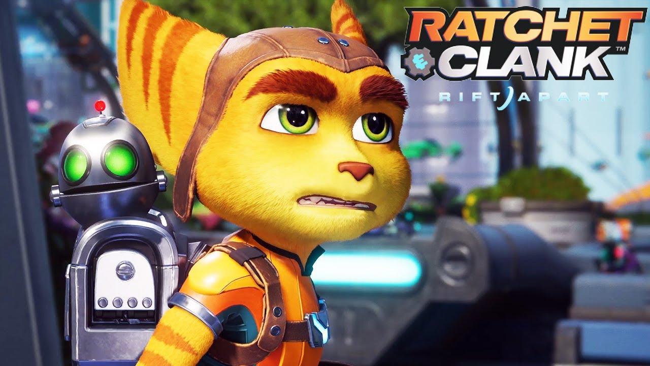"""As armas e o """"traverse"""" de Ratchet & Clank: Rift Apart"""
