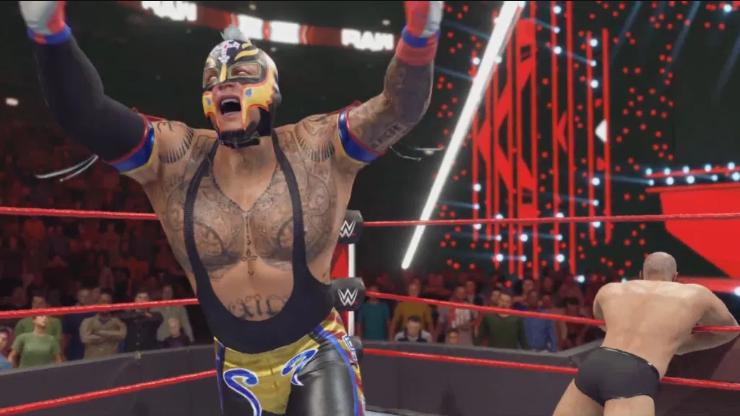 2K Games anuncia WWE 2K22