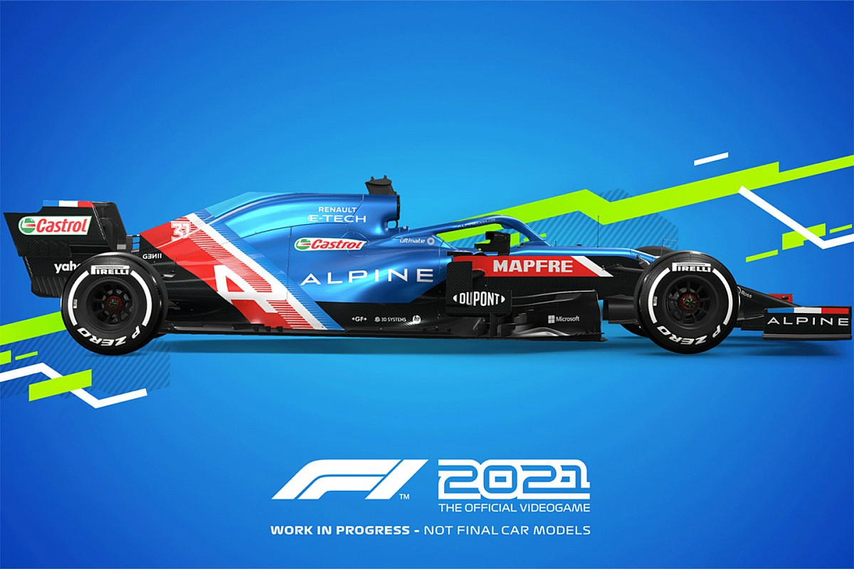 Codemasters anuncia F1 2021