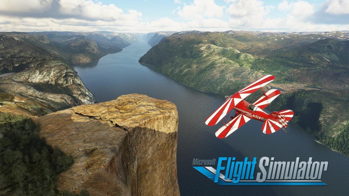Países Nórdicos chegam a Microsoft Flight Simulator