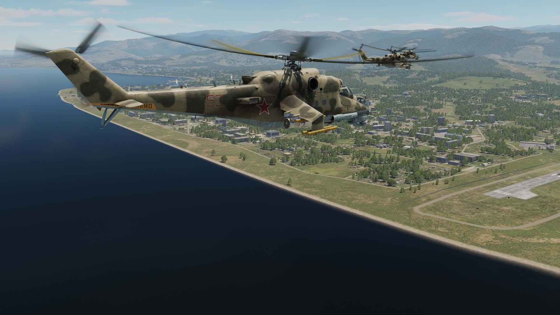 Simuladores – DCS: Mi-24P Hind