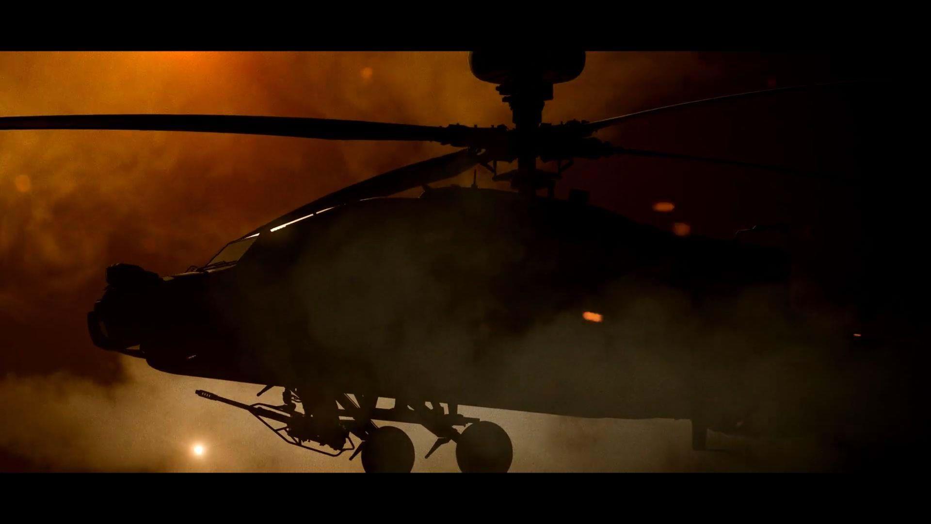 Eagle Dynamics lança teaser do DCS: AH-64D Apache