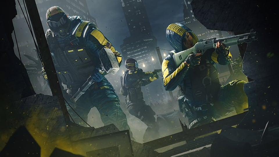 Ubisoft volta a adiar Rainbow Six: Extraction e Riders Republic