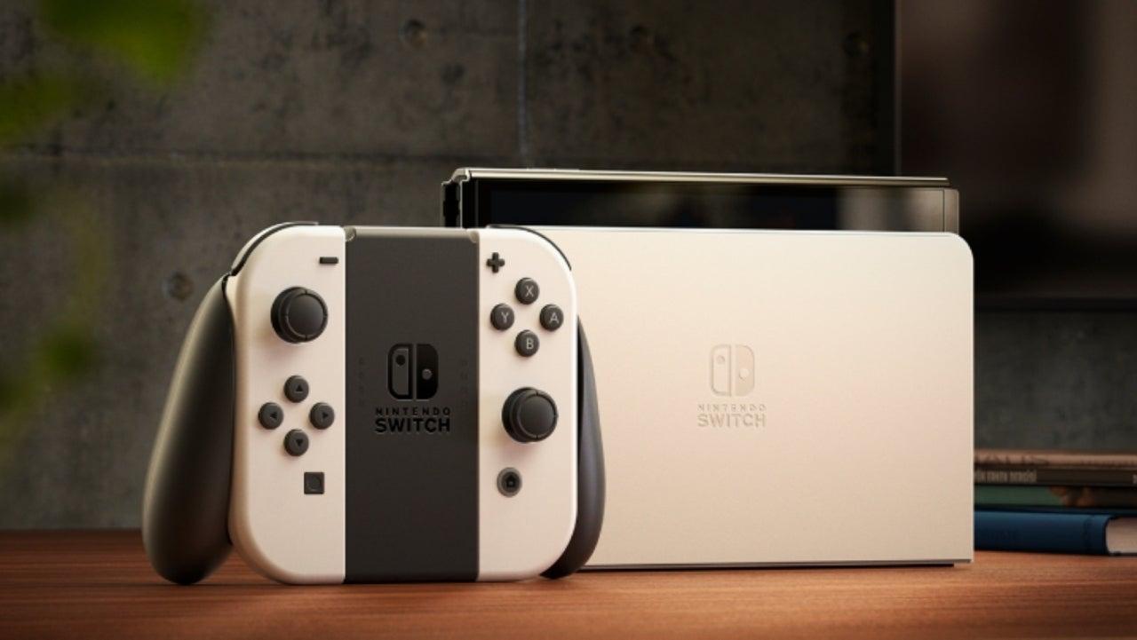 Nova Nintendo Switch (OLED) anunciada e já tem data de lançamento