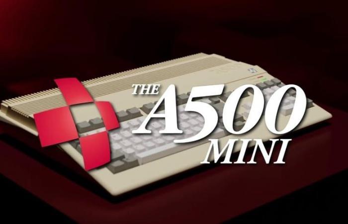 The A500 Mini: O Amiga 500 regressa em miniatura com 25 clássicos