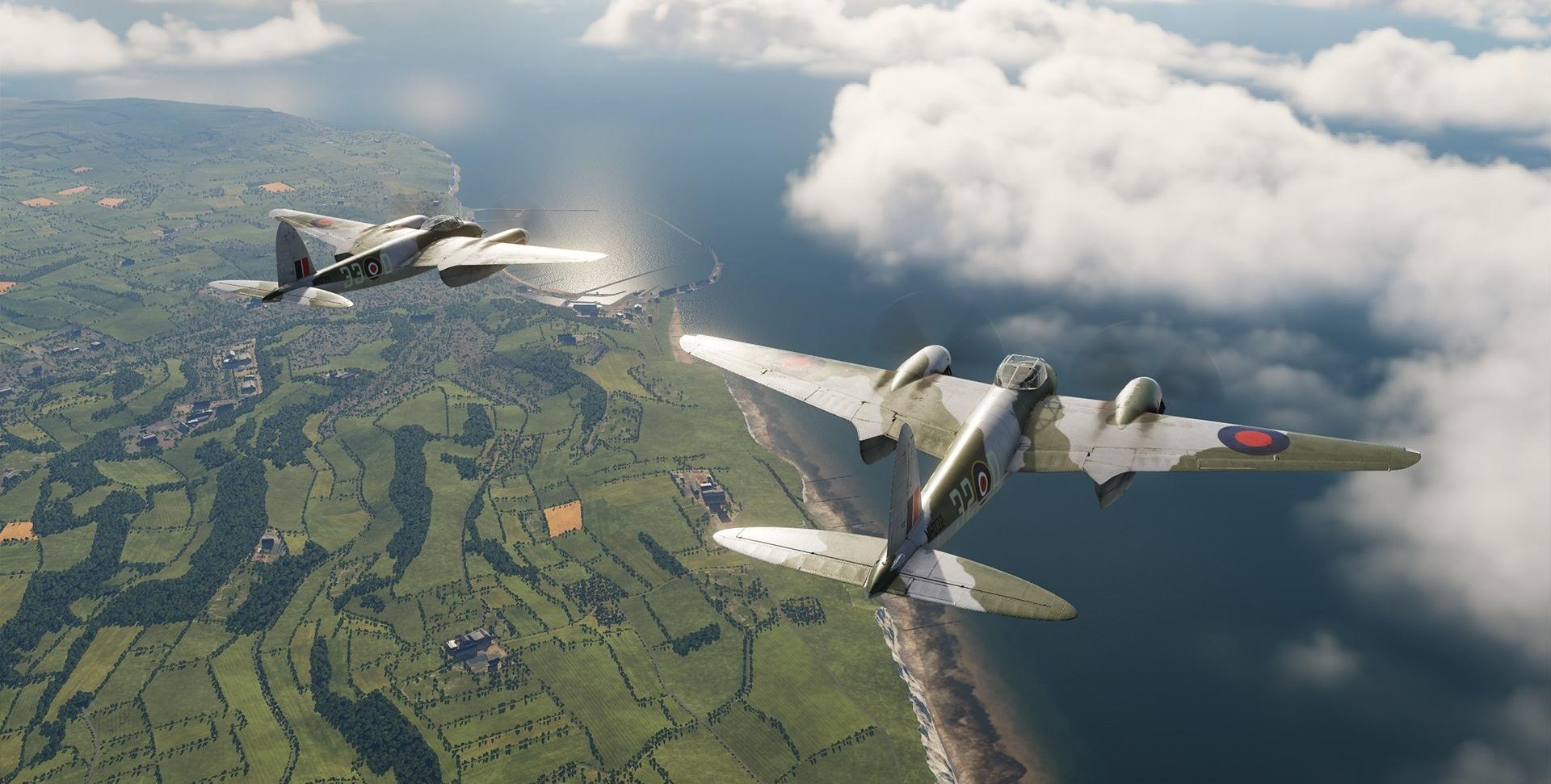Eagle Dynamics lança o DCS: Mosquito FB VI em acesso antecipado