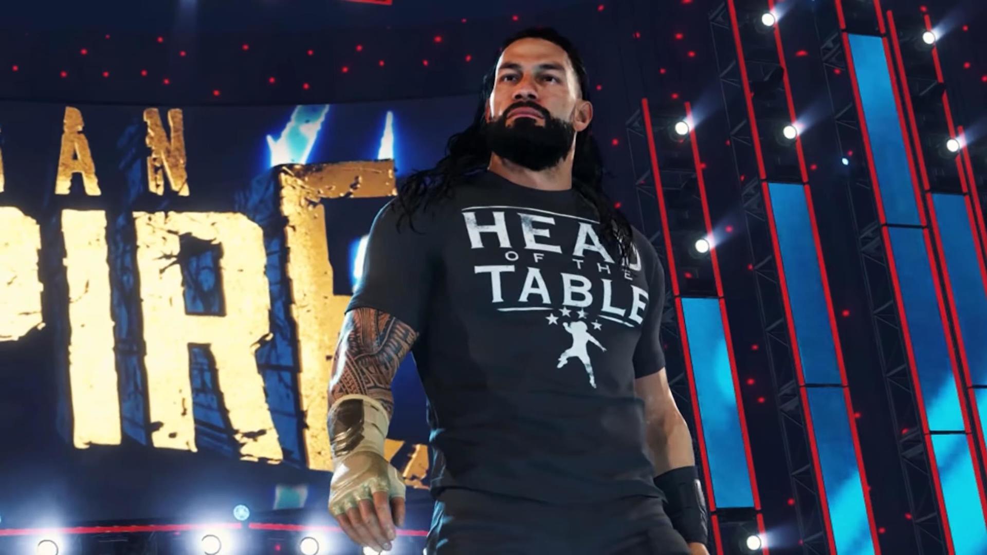 WWE 2K22 revelado… para o próximo ano