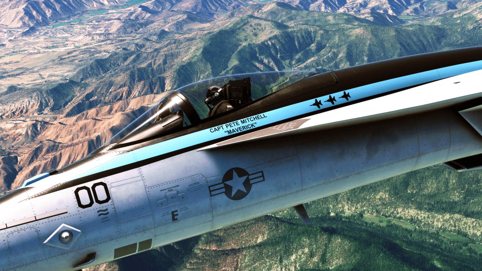 DLC de Top Gun 2 adiado em Microsoft Flight Simulator