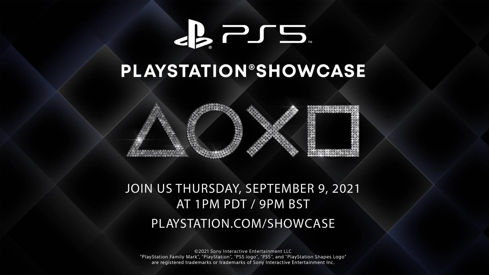 Assistam aqui hoje ao PlayStation Showcase