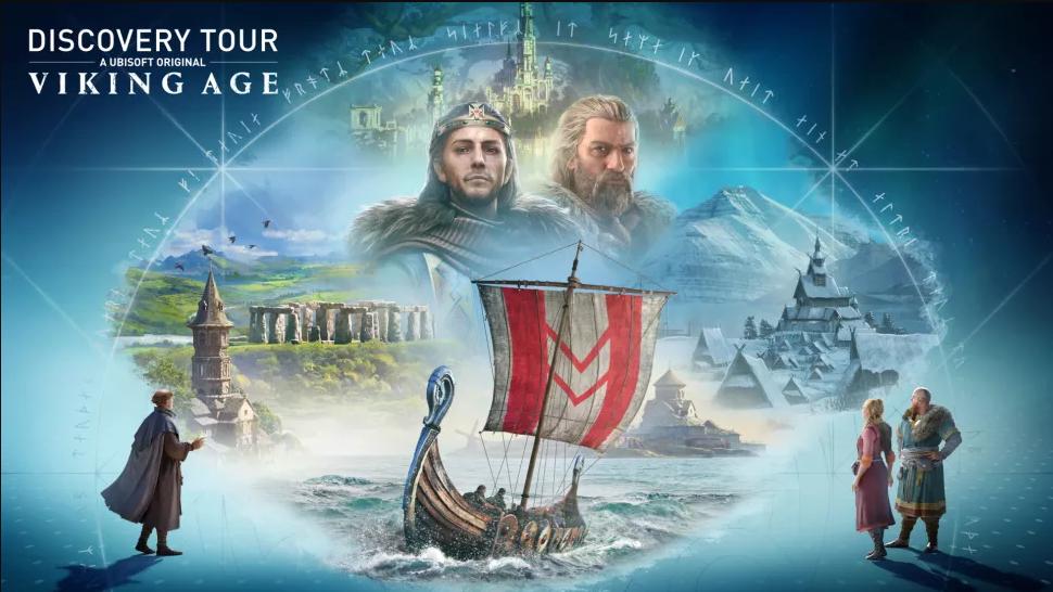 """Ubisoft vai lançar uma nova """"Discovery Tour"""" sobre os Vikings"""