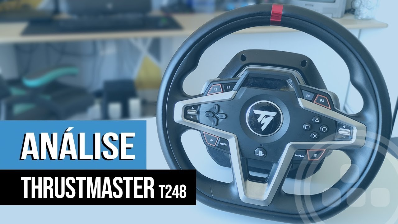 Análise – Volante Thrustmaster T248 (PS4, PS5 e PC)