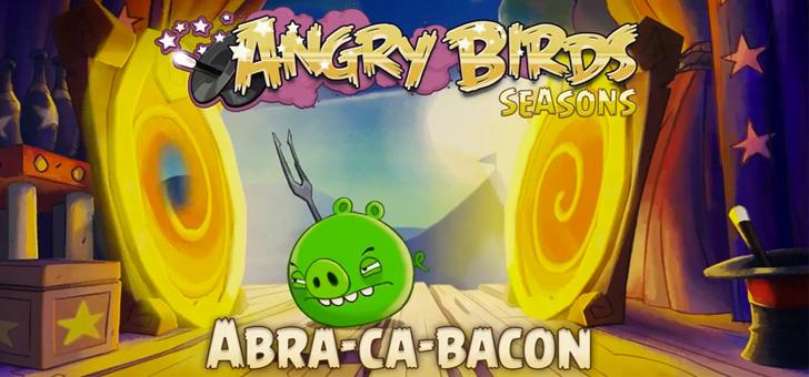 Angry Birds Seasons recebe novos níveis e com portais
