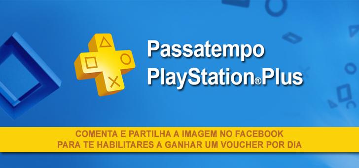 Durante 10 dias vamos oferecer cartões PlayStation®Plus!
