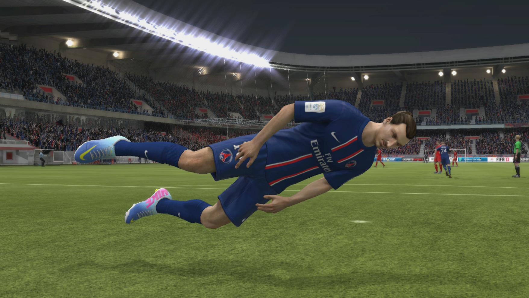 Momentos hilariantes em FIFA 14