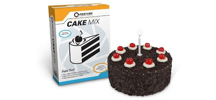Faz os teus bolos de Portal como a GlaDoS