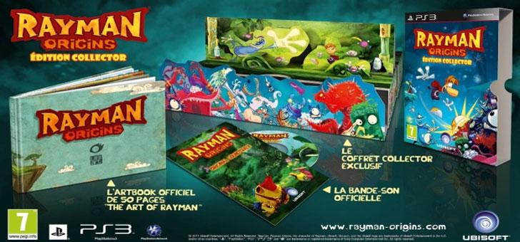 Edição especial de Rayman Origins