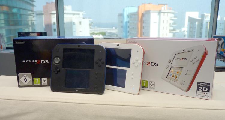 Testámos a Nintendo 2DS