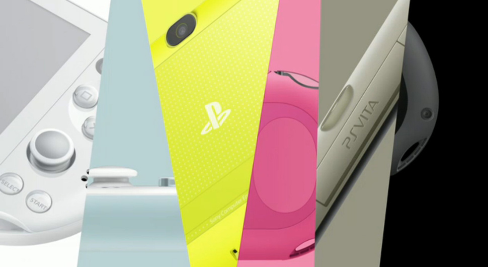 Novo modelo da PlayStation Vita