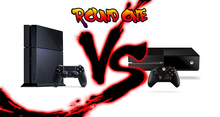 Playstation 4 VS Xbox One – Round 1