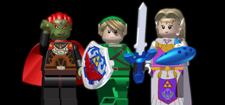 The Legend of Zelda em LEGO®